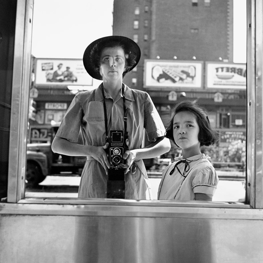 Vivian Maier-self portrait